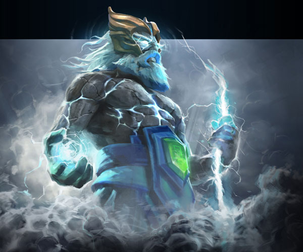 Arcana Tempest Helm of the Thundergod для героя Zeus